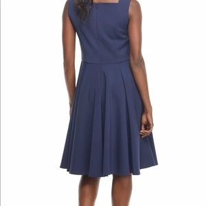 Gal Meets Glam Dresses - Gal meets glam Zoe pleated bow A-line dress